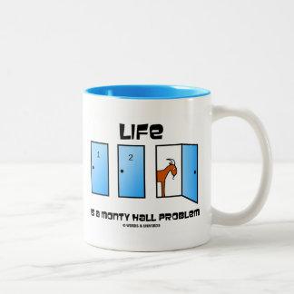 La vida es un problema de Monty Pasillo (tres Taza De Dos Tonos
