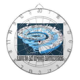 La vida es una aventura de la época (el tiempo geo