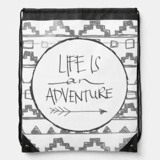 La vida es una aventura mochilas