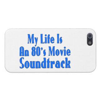 La vida es una banda de sonido de la película de iPhone 5 carcasa