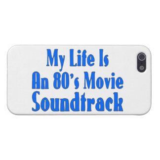 La vida es una banda de sonido de la película de iPhone 5 funda