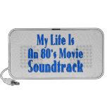 La vida es una banda de sonido de la película de l mini altavoces