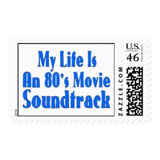 La vida es una banda de sonido de la película de l franqueo