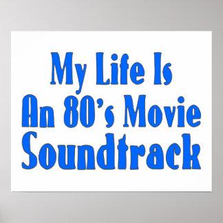 La vida es una banda de sonido de la película de póster