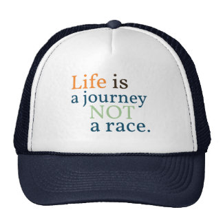 La vida es una camisa del viaje gorra