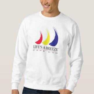 La vida es una camiseta del bacalao de sudadera con capucha