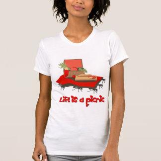La vida es una comida campestre… para la camiseta