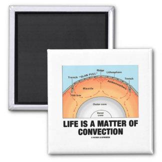 La vida es una cuestión de convección (la geología imanes para frigoríficos