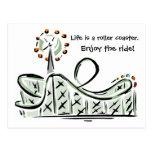 La vida es una montaña rusa. ¡Disfrute del paseo!