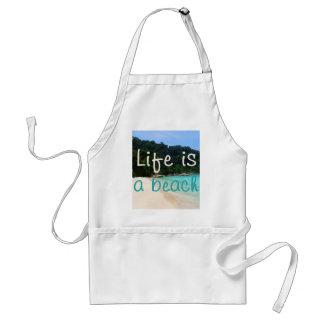 La vida es una playa delantales