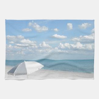 La vida es una playa toalla de mano