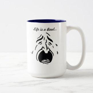 La vida es una taza del gritar