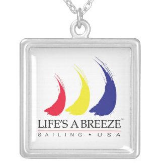 La vida es velas líquidas de un Breeze®_Paint-The- Colgante
