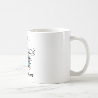 La vida está detrás de los vidrios taza de café