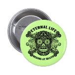 La vida eterna comienza en la muerte pin