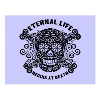 La vida eterna comienza en la muerte postal