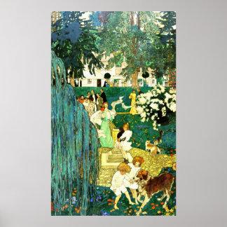 La vida fue hecha para el amor y la alegría 1904 póster