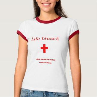 La vida Guard~mine camina en el agua Remera