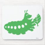 La vida Heimlich de un insecto que come el recorte Mouse Pad