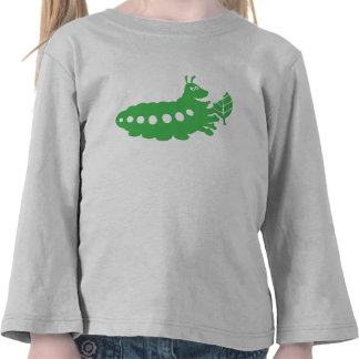 La vida Heimlich de un insecto que come el recorte Camisetas