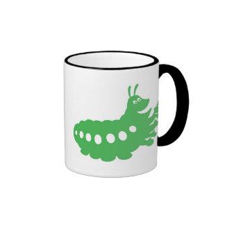 La vida Heimlich de un insecto que come el recorte Tazas De Café