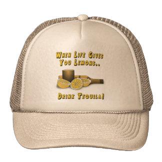 La vida le da los limones gorras