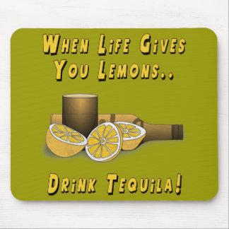 La vida le da los limones tapetes de raton