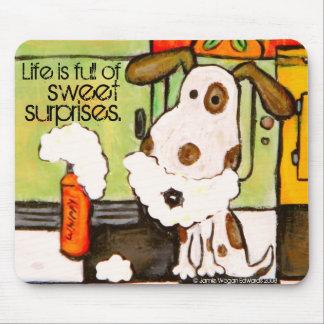 La vida Mousepad del perro Tapete De Raton