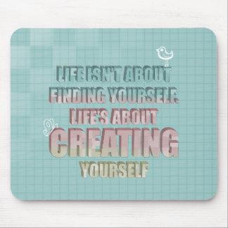 La vida no está sobre encontrarse cita mouse pads