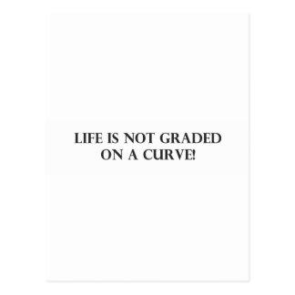 La vida no se califica en un Curve.pdf Postal