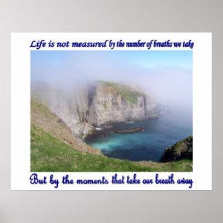 La vida no se mide poster