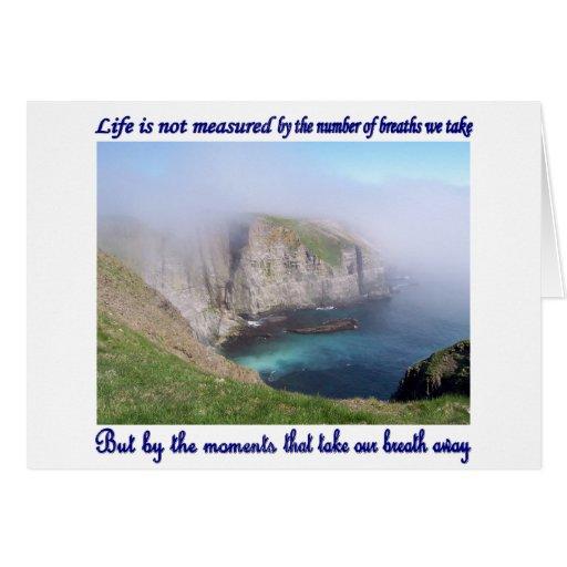La vida no se mide tarjetas
