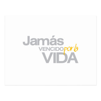 LA VIDA (p1005) de JAMAS VENCIDO POR Postales