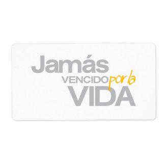 LA VIDA (p1078) de JAMAS VENCIDO POR Etiquetas De Envío