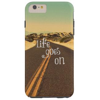 La vida retra va en cita funda de iPhone 6 plus tough