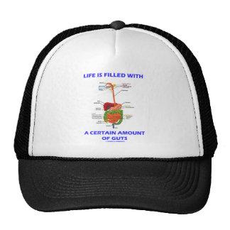 La vida se llena de una cantidad determinada de tr gorra