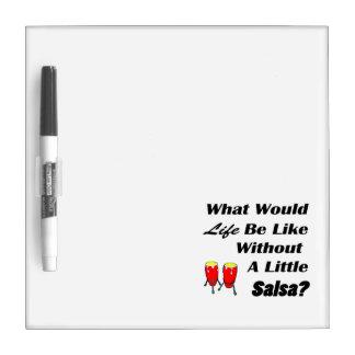la vida sea como sin los congas del rojo del texto pizarras blancas