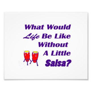 la vida sea como sin los congas púrpuras del rojo impresiones fotográficas
