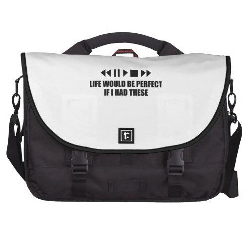 La vida sería perfecta si tenía éstos bolsas para ordenador