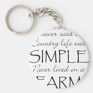 La vida simple llaveros
