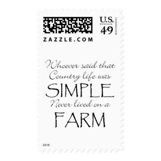 La vida simple sellos