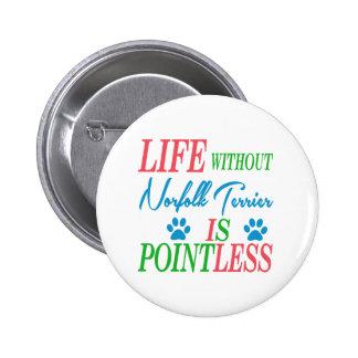 La vida sin Norfolk Terrier es insustancial Pins