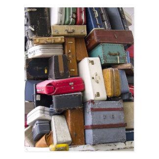 La vida tiene mucho equipaje 2 tarjetas postales