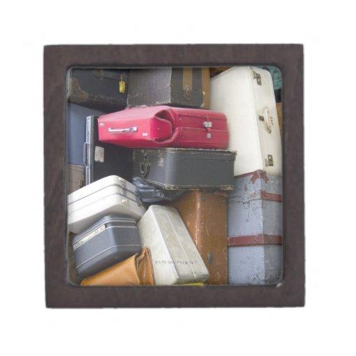 La vida tiene mucho equipaje cajas de recuerdo de calidad