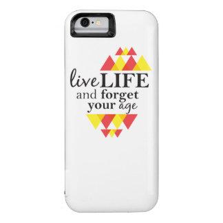 La vida viva y olvida su caso del iPhone de la