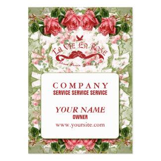 La Vie En Rose - Business Card