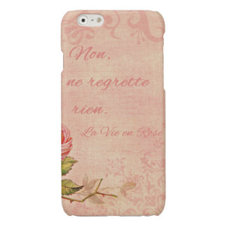 La Vie En Rose Glossy iPhone 6 Case