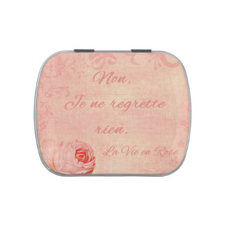 La Vie En Rose Jelly Belly Tins