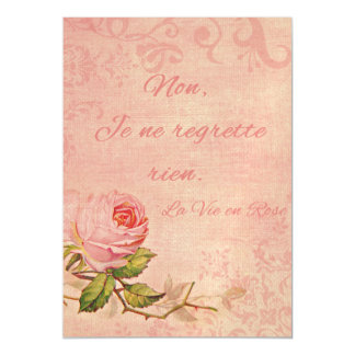 La Vie En Rose Magnetic Card