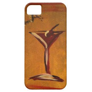 """LA VIE EN ROSE"" MARTINI GLASS PRINT iPhone 5 COVERS"